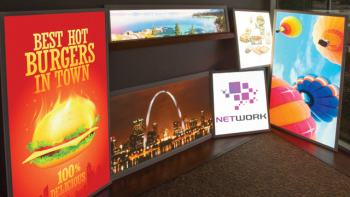 Custom LED Light Box Panels