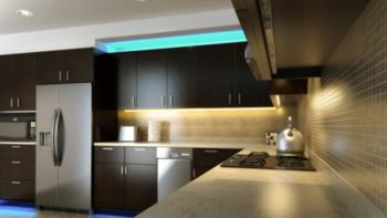 Cabinet Lighting with LED Strips