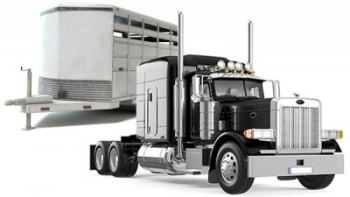 Commercial Truck and Trailer
