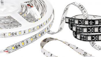 White Flexible LED Strip Lights