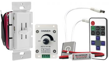 Single Color LED Dimmer Switches