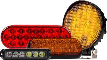 LED Strobe Light Fixtures