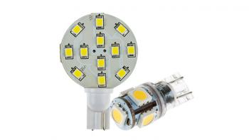 Miniature Wedge Base LED Bulbs