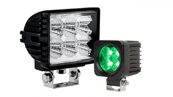 Off-Road LED Work Lights & LED Driving Lights