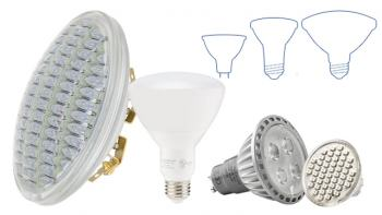 Trade Show LED Spot & Flood Light Replacement Bulbs