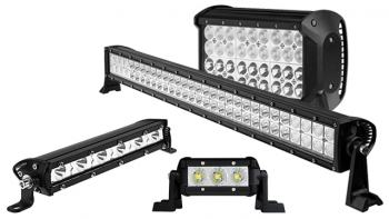 Straight LED Light Bars