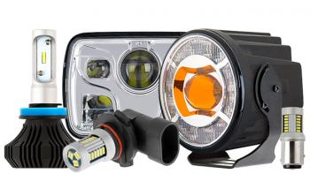 Tractor LED Fog Lights