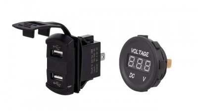 Shop for Ammeter, Voltmeter, and USB Charging Ports