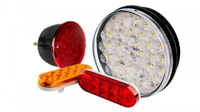 Led truck and trailer lights off road commercial truck and shop for tail brake turn reverse led lights aloadofball Image collections