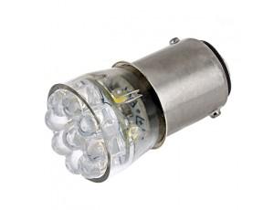 1142 LED Bulb - 15 LED Forward Firing Cluster - BA15D Retrofit