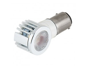 1157 LED Bulb w/ Adjustable Right Angle - Dual Function 1 High Power LED - BAY15D Retrofit