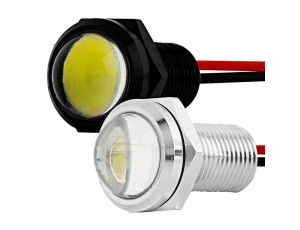 Bolt Beam 12mm LED Light: Available In Chrome & Black Finish