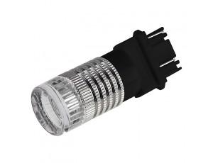 3157 LED Bulb w/ Brake Flasher - Dual Function 1 High Power LED - Wedge Retrofit