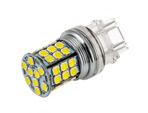 3157 LED Bulb - Dual Function 45 SMD LED Tower - Wedge Retrofit