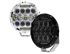 """7"""" Round Driving Light Insert Bracket - High Powered LED Work Light"""