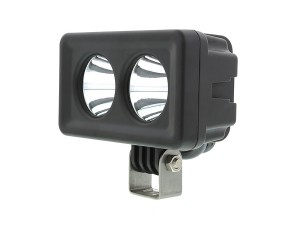 20 Watt Dual LED Mini Auxiliary Work Light