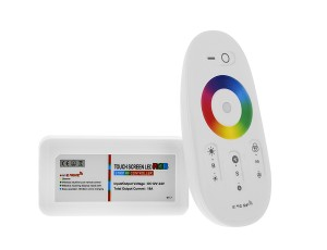 LDRF-RGB6-TC4 RGB WIFI Compatible Controller w/ Sync-able RF Touch Color Remote