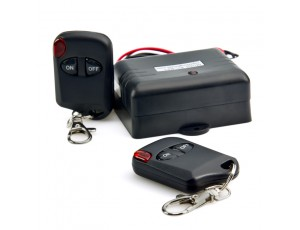Universal Remote Control with Key Fobs