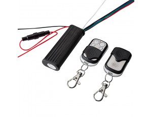 Wireless Remote Control Switch with Key Fobs - RGB