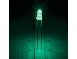 Aqua 3mm LED