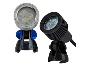 3 Watt LED Landscape Spot Light: Available in Silver & Black Finish