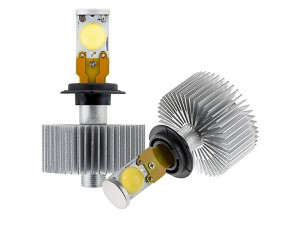 LED Headlight Kit  H7 LED Headlight Bulbs Conversion Kit with