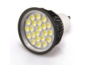 White 5 Watt LED GU10 Bulb
