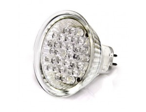 MR16 Bulb with 30-5mm Cool White LEDs