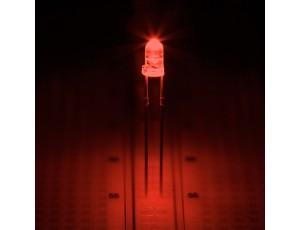 Orange 3mm LED