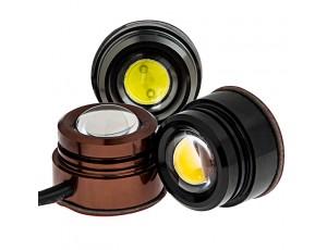 PLM series Wired 1.5 Watt LED: Available In Bronze, Black, & Titanium Finish