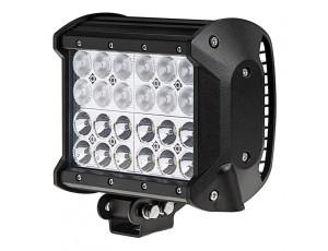 "6.5"" Quad Row Heavy Duty Off Road LED Light Bar with Multi Beam Technology - 72W"