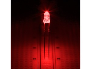 Red 3mm LED