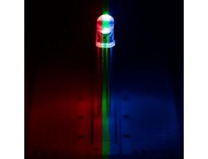 RL5-RGB-C Clear TriColor LED