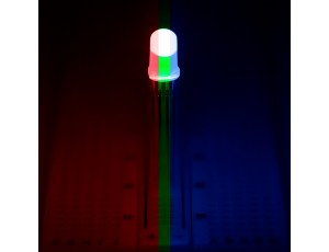 RL5-RGB-D-2 Diffused TriColor LED