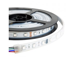 SWDC series Dream-Color Flexible RGB LED Strip - 12 Volt DC