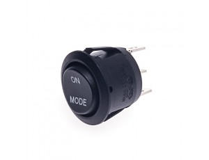 SPDT Round Rocker Switch with Mode Selector