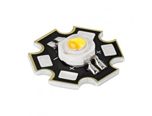 Vollong 2 x 3W Dual White High Power LED