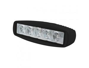 "LED Work Light - 6"" Rectangle - 15W"
