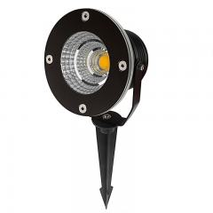 10W Landscape LED Spotlight w/ Mounting Spike - 600 Lumens