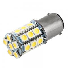 1142 LED Boat and RV Light Bulb - 27 SMD LED Tower - BA15D Retrofit - 365 Lumens