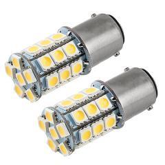 1142 LED Landscape Light Bulb - 27 SMD LED Tower - BA15D Retrofit - 365 Lumens