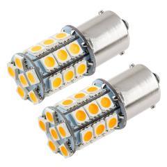 1156 Boat and RV LED Light Bulb - (27) SMD LED Tower - BA15S Retrofit Base - 420 Lumens