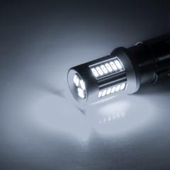 1156 CAN Bus LED Light Bulb - (30) SMD LED Tower - BA15S Base - Cool White