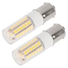 1156 LED Light Bulb - (51) SMD LED Tower - BA15S Base with Lens