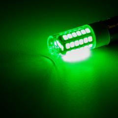 1156 LED Bulb - 51 SMD LED Tower - BA15S Base with Lens