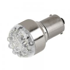 1156 LED Light Bulb - (12) LED Forward Firing Cluster Bulb - BA15S Base - 5W Equivalent