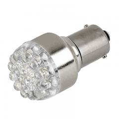 1156 LED Boat and RV Light Bulb - 19 LED Forward Firing Cluster - 6 VDC - 125 Lumens