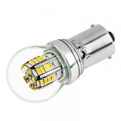 1156 LED Light Bulb with Stock Cover - (36) SMD LED Tower - BA15S Base