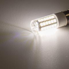 1156 LED Light Bulb - (51) SMD LED Tower - BA15S Base with Lens - Natural White