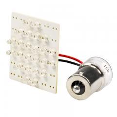 1156 LED Boat and RV Light Bulb - 24 LED PCB Lamp - BA15S Retrofit